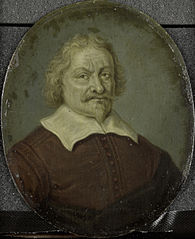 Portrait of David Lingelbach I, Founder of the  Nieuwe Doolhof (New Labyringh), Amsterdam