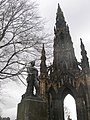David Livingstone and the Scott Monument, Princes Street Gardens, Edinburgh - geograph.org.uk - 739452.jpg