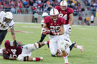 Tyler Gaffney - Gaffney with the Stanford Cardinal in 2013