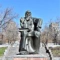 David the Invincible statue (1985), Yerevan, Armenia.jpg