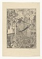 Death Chasing the Flock of Mortals, print by James Ensor, 1896, Prints Department, Royal Library of Belgium, S. II 83523.jpg