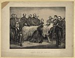 Death bed of Lincoln.jpg