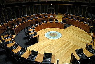 Senedd - Debating chamber