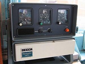 Decca Navigator System - Decca Navigator Mk. 21, with the Decometer dials prominent.