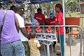 Dede Veza na praça da Independência em Luanda lançamento.jpg