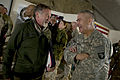 Defense.gov News Photo 101215-N-0696M-193 - Comedian Robin Williams visits with Commanding General of Combined Task Force 101 U.S. Army Lt. Gen. John F. Campbell after the USO Holiday Tour.jpg