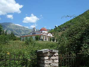 Delvinë - Orthodox church in Delvinë
