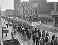 Demonstratie van Duitse mijnwerkers in Bonn tegen sluiting van mijnen in het Roe, Bestanddeelnr 910-7032.jpg