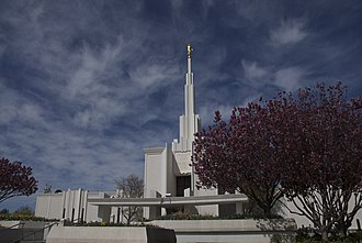Denver Colorado Temple - Image: Denver Colorado Mormon Temple 2