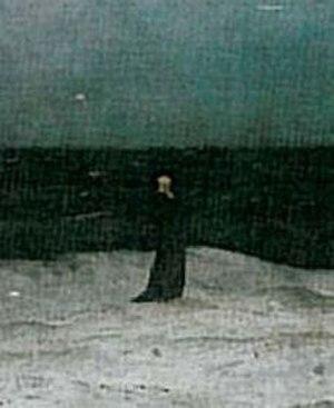 The Monk by the Sea - Image: Der Moench am Meer (Ausschnitt)