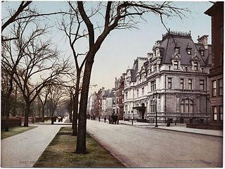 Mrs. William B. Astor House building in Manhattan, New York, United States