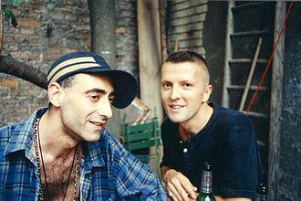 Deutsch Amerikanische Freundschaft - D.A.F. (Delgado-López left, Görl right)