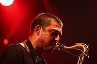Deutsches Jazzfestival 2013 - Guillaume Perret and The Electric Epic - Guillaume Perret - 04.JPG