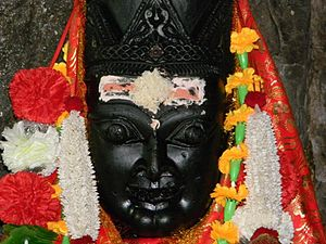 Garhwali people - Image: Dhari Devi