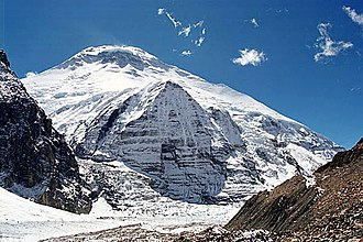 1950 French Annapurna expedition - Dhaulagiri from French Pass (2008)