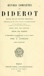 Denis Diderot: Diderot - Oeuvres completes, Garnier, T15-16.djvu