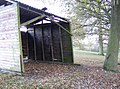 Dilapidated wooden shed - geograph.org.uk - 630447.jpg