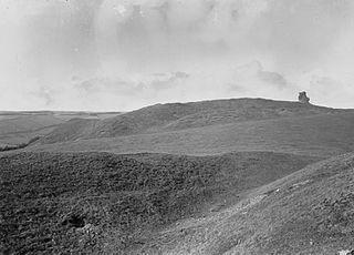 Dimbod castle ruins