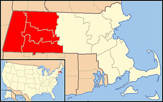 Roman Catholic Diocese of Springfield in Massachusetts - Image: Diocese of Springfield (Massachusetts) map 1