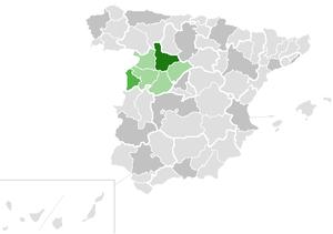 Roman Catholic Diocese of Ciudad Rodrigo - Image: Diocesis de Ciudad Rodrigo