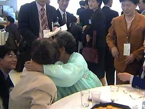 Divided family - Image: Divided Families Reunion 01
