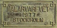 Djurgårdsbron Mälarvarfvet skylt.jpg