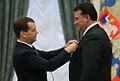 Dmitriy Medvedev, Alexandr Pleshakov.jpg