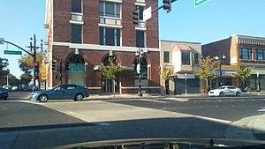 Downtown Richmond, Richmond, California - Harbour Way and Macdonald Avenue downtown Richmond California