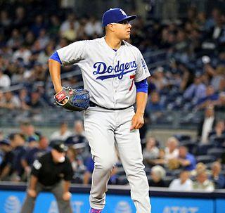 Julio Urías Mexican baseball player
