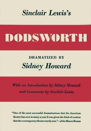 Dodsworth (play) - First edition 1934