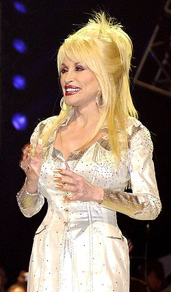 Dolly Parton i Nashville, Tennessee i april 2005.