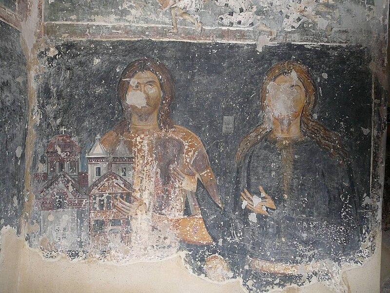Ktitorski portret, Bogorodičina Crkva u Donjoj Kamenici
