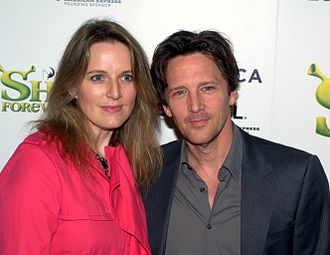 Andrew McCarthy - McCarthy with wife Dolores Rice at the premiere of Shrek Forever After.