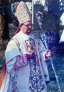 Il vescovo Licínio Rangel.