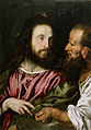Domenico Fetti - Christ and the Tribute Money - Walters 37582.jpg