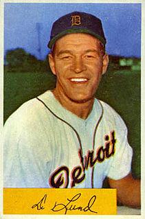 Don Lund American baseball player