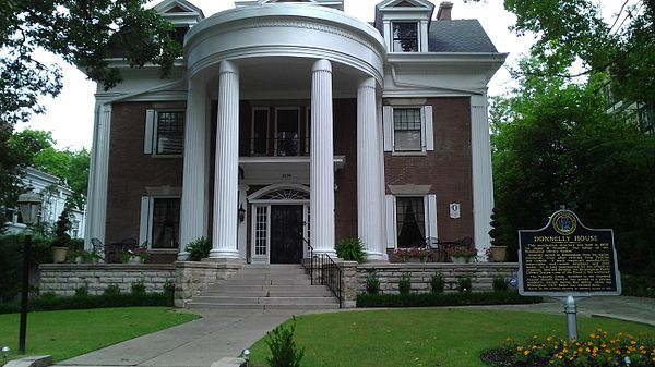 Donnelly House And Gardens Birmingham Alabama