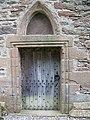 Doorway, Innerpeffray Collegiate Church - geograph.org.uk - 830305.jpg