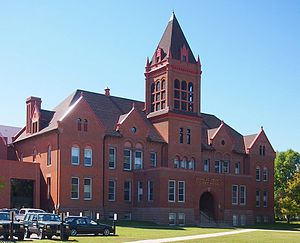 Douglas County Courthouse in Alexandria, Minnesota.