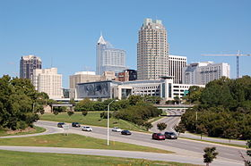 Downtown Raleigh, North Carolina
