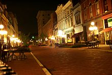 Downtown Frankfort KY at night.JPG