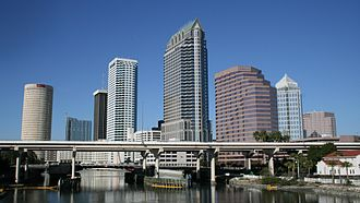 Hillsborough County, Florida - Image: Downtowntampa 08