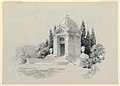 Drawing, Rendering of a Mausoleum, 1920 (CH 18419929-2).jpg