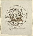 Drawing, Triumph of Peace, Roundel, for the Aldini Villa at Montmorency, 1813 (CH 18123025).jpg