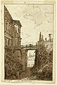 Drawing, Villa Farnese- in the Moat of Caprarola, ca. 1813 (CH 18113669).jpg