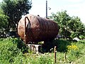Drinking water barrel in Olenino.jpg