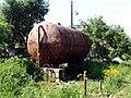 Drinking water barrel in Olenino.jpg