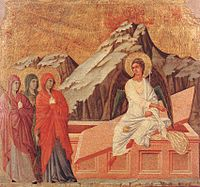 Duccio di Buoninsegna - The Three Marys at the Tomb - WGA06817.jpg