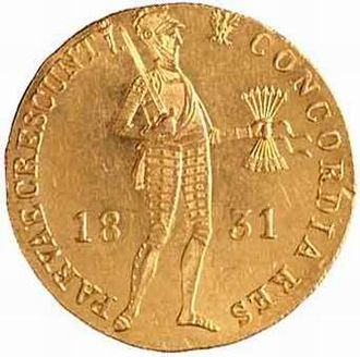 "Red złoty - The last red złoty, the ""insurgent ducat""  of 1831"