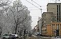 Dunajewskiego street, Krakow, Poland.JPG